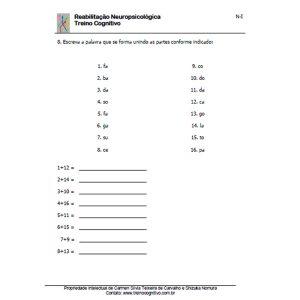 Treino Instrucional - Nível I
